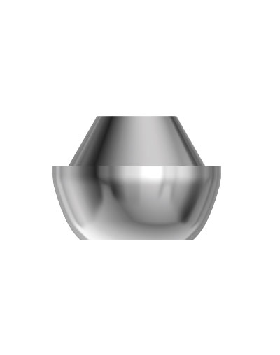 Conical abutments for the twinKon®4 implant system