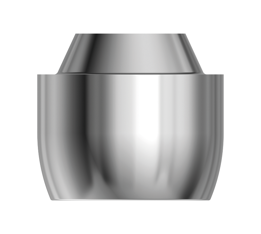 Ø4.3 mm conical abutment from the twinKon®4 range