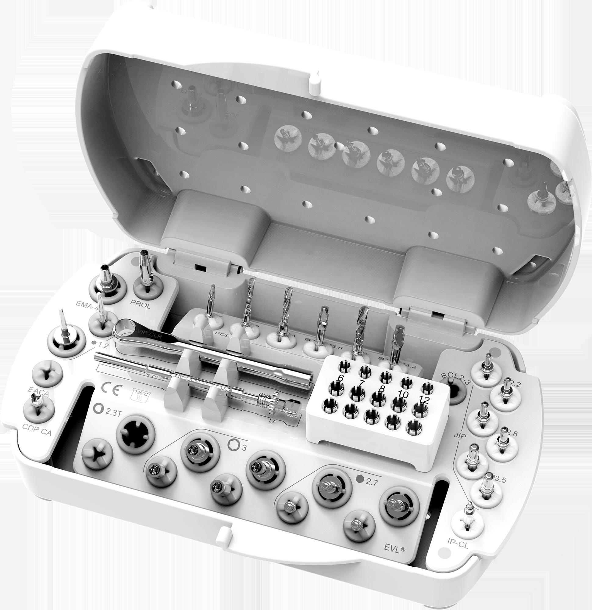 Trousse de Chirurgie pour système implantaire EVL®