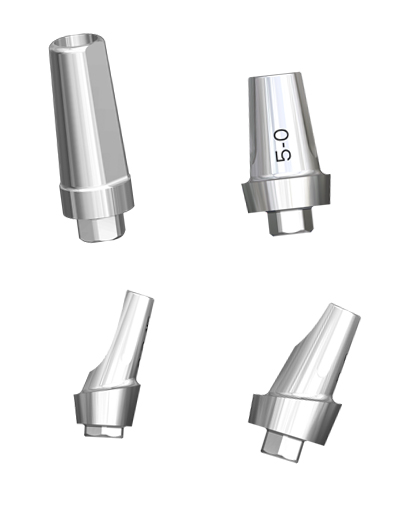 FMTA, FMTV and FMTR abutments for EVL® dental implants