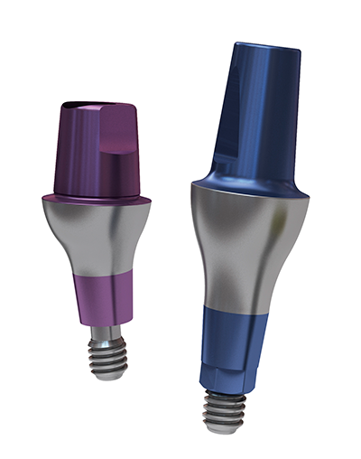 Abutments and sleeves for In-Kone® dental implants