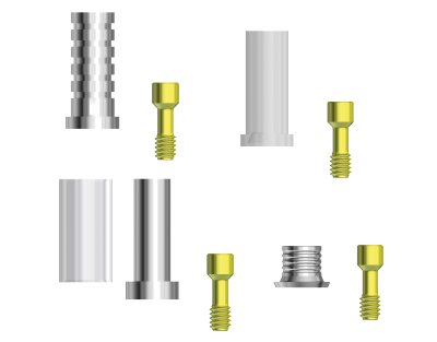 twinKon® sleeves for conical abutments