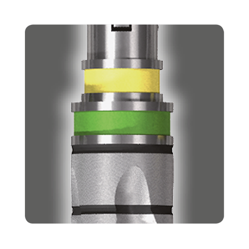Fresa de doble color - Kit de cirugía ULTIMATE