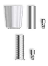 Gaine mixte pour implant dentaire twinkon®