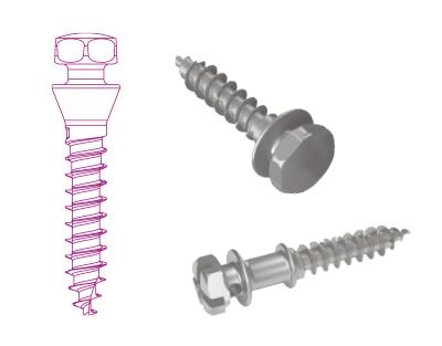 Mini-vis d'ancrage orthodontique - Gamme Ancotek
