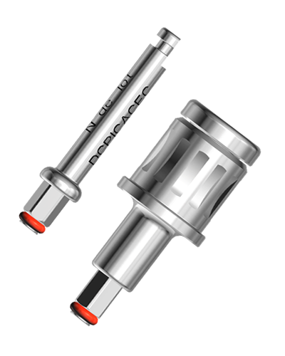 Implant driver wrenches for the twinKon®4 implant system