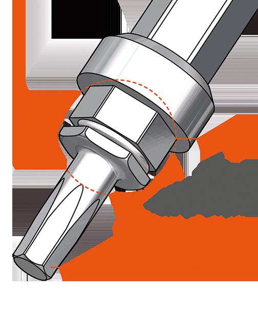 Llaves dinamométricas que forman el kit de cirugía EVL