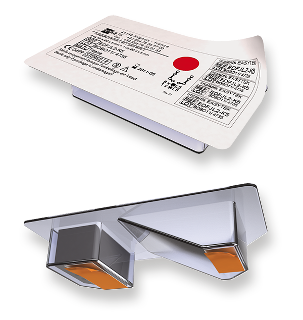 Complete Easytek pack label for Surgery