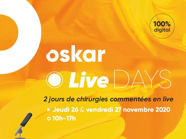 Oskar Live Days : 2 jours de chirurgies en direct, 100% digital